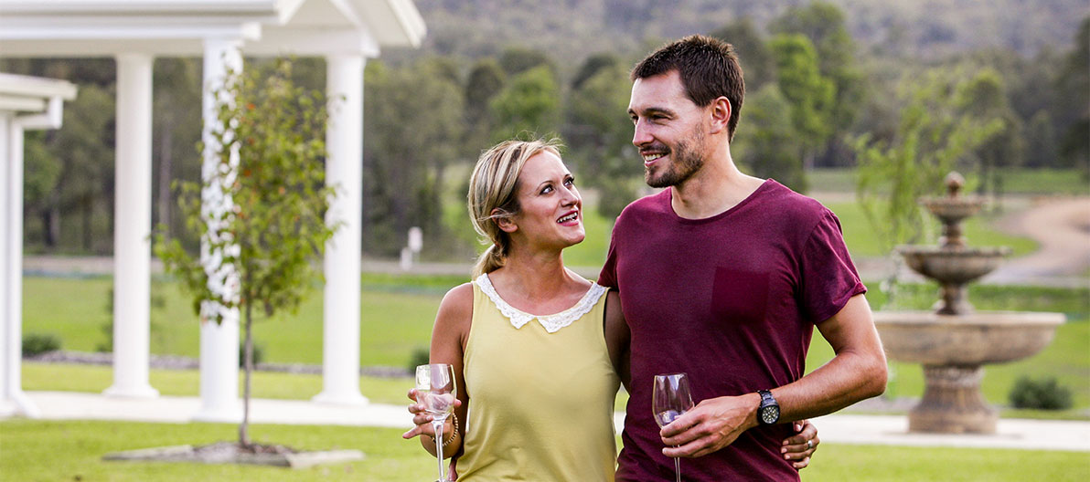 Enjoy a Hunter Valley wine