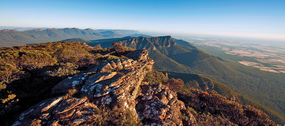 Mount Wellington at the Grampians