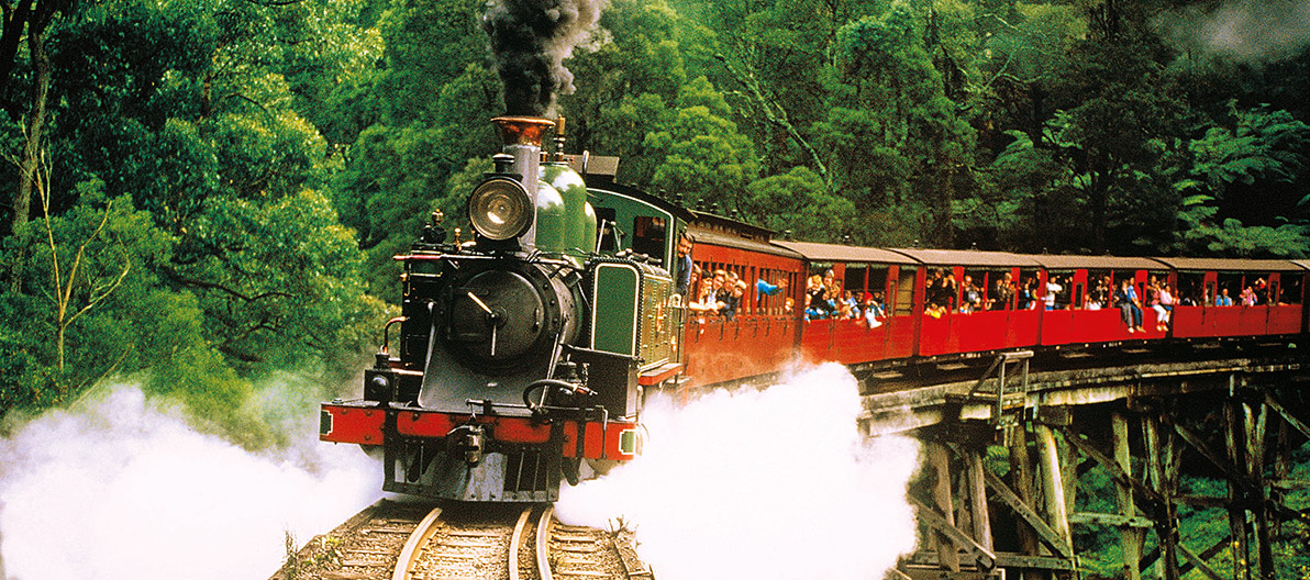 Puffing Billy Stream Train